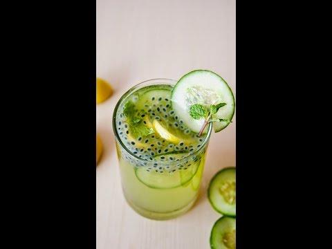 Sabja mint juice|| Mint lemonade || Chia seeds|| summer coolant || summer juice