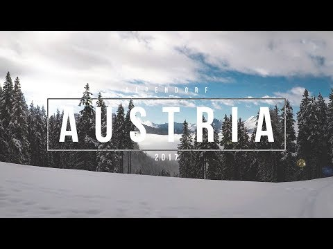 Gopro // Skiing the Austrian Alps