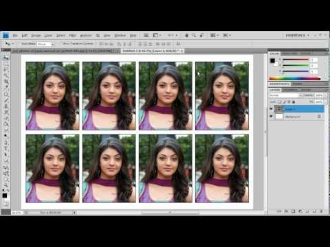 How to create Passport photos in one click