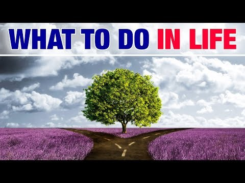 What To Do in Life - How To Find Your Life Purpose