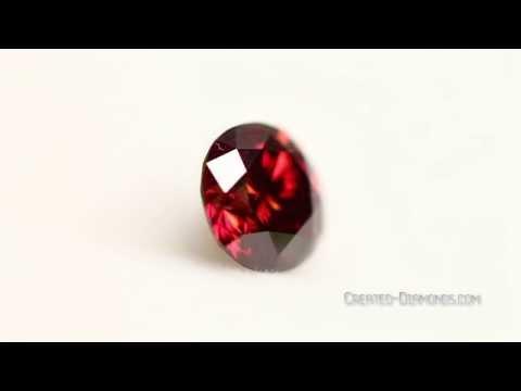 Eco-friendly Blood Red Diamond