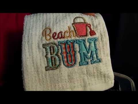 Applique Tutorial for Brother Embroidery Machine using HeatnBond Lite
