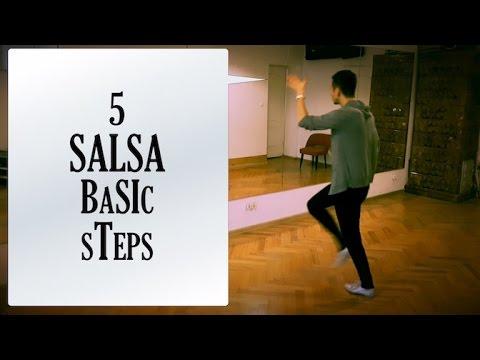 5 SALSA BASIC STEPS | Salsa Footwork Lesson #7