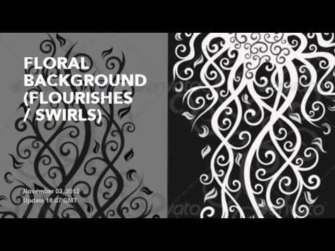 Top Flourishes & Swirls Decorative Vectors