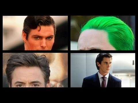 Superman - The Joker - Tony Stark - American Psycho