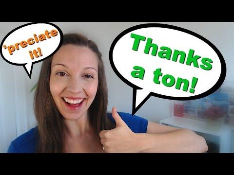How to say Thanks: Back to English Basics Series