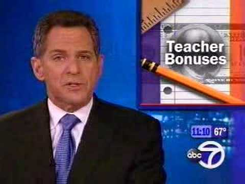Bloomberg's Pay for Peformance for NYC Teachers
