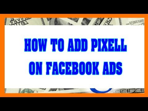 Earn Money Fast With Facebook 2018 - How To Install Pixel Code For Facebook Ads
