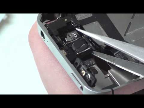 iPhone 4S Powerbutton - Proximity + Ambient Sensor Removal