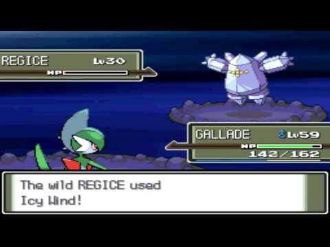 Pokémon Platinum - Capturing Regice