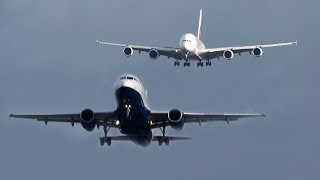 AIRBUS A380 vs. AIRBUS A319 - I AM BEHIND YOU, BROTHER (4K)