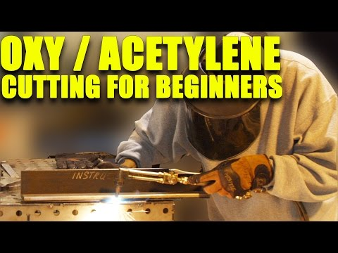 🔥 Flame Cutting with Oxy Acetylene