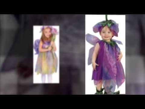 Buy Precious Flower Fairy Child Halloween Costumes