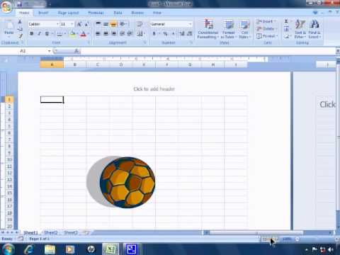 Excel 2007 Tutorial 1 - Getting Started and the User Interface