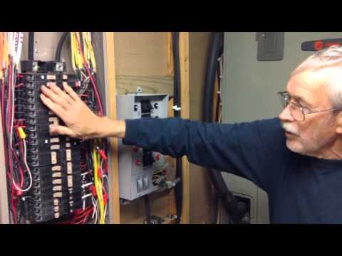 Generator Transfer Switch - Wired