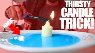The THIRSTY CANDLE TRICK! | Easy Magic |