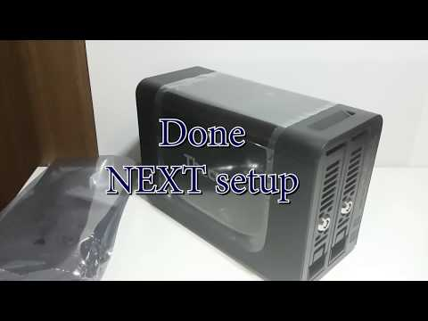 Thecus N2350 Installing Hard drives and setting up RAID 1