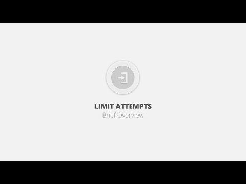 Limit Attempts WordPress Plugin - Brief Overview