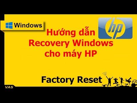[WINDOWS] - RECOVERY WINDOWS 10 LAPTOP HP