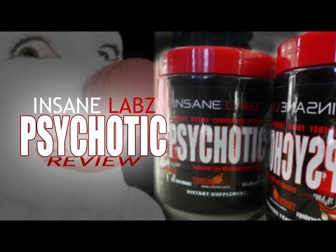 Insane Labz Psychotic - Pre workout pre training formula - Review