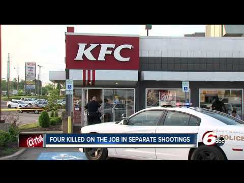 IMPD release video of man wanted for questioning in deadly shooting of KFC employee