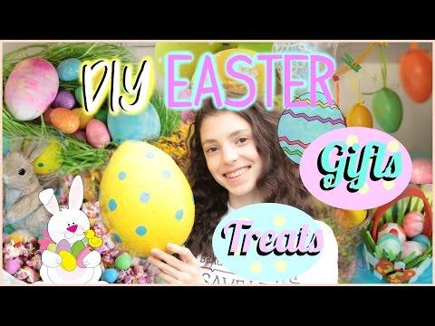 DIY Easter Treats, Gifts + Room Decor | Giant Easter Egg + DIY Easter Bath Bomb
