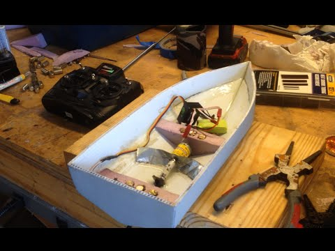 RC Boat Build (Part 2: Hull Construction)