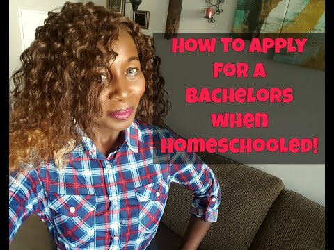 How To Apply To College As A HomeSchooled Student?!