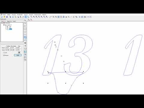Smart Carve Laser Cutting Table Number Designs at PicoKit