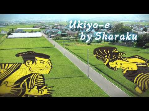 Rice paddy art ~Days to the completion of the gigantic geoglyphs~