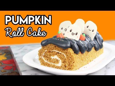 How to Make a Pumpkin Spice Roll Cake!