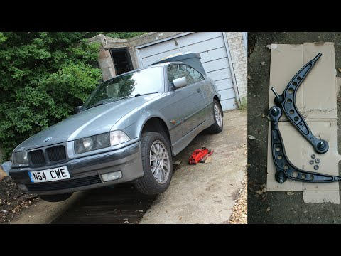 BMW E36 Lower Control Arm Replacement