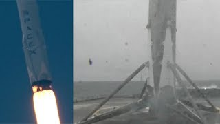 SpaceX Falcon 9 launches Iridium-2 & Falcon 9 first stage landing, 25 June 2017