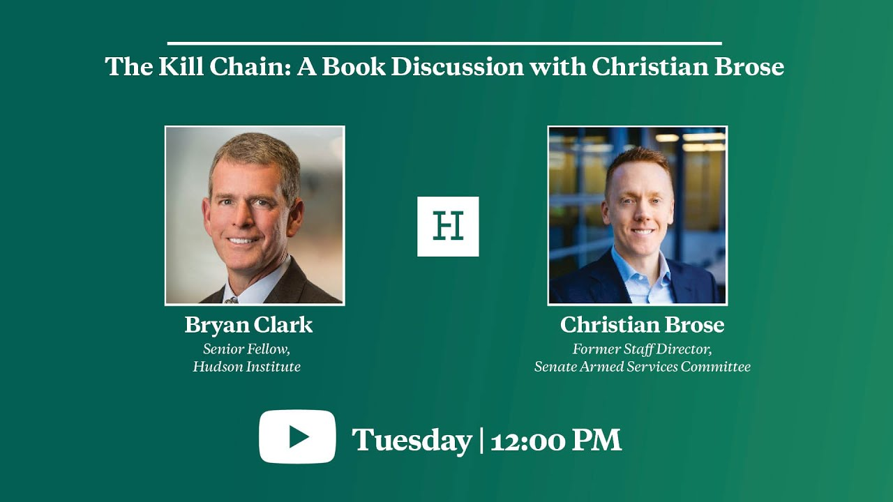 The Kill Chain: A Book Discussion with Christian Brose