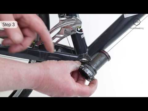 Replace A Shimano Hollowtech Bottom Bracket On A Bike