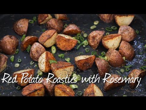 Red Potato Roasties with Rosemary