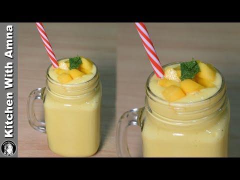 Mango Smoothie Recipe - Summer Special Mango Recipes - Kitchen With Amna