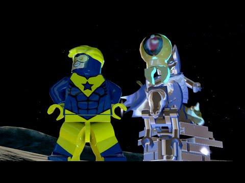 LEGO Batman 3: Beyond Gotham - Booster Gold Gameplay and Unlock Location