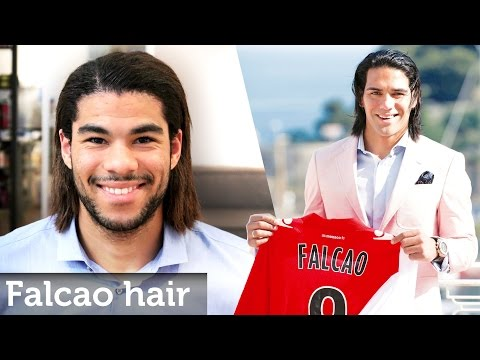 Hair Like Radamel Falcao ★ Long Football Hairstyle For Men ★ Permanent Straightening