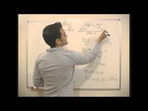 Math - Trigonometry - The Sine Rule