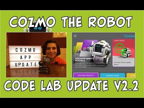 Cozmo the Robot | App Update v2.2 - NEW Features | Episode #75 | #cozmoments
