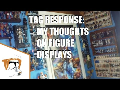 RE: Action Figure Display Methods (Comic Figure Blog Tag Video)