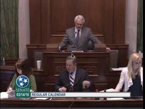 Direct Primary Care Senate Floor Debate (TN)