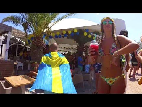 Wild Greek Islands Dance Party! Ios, Greece
