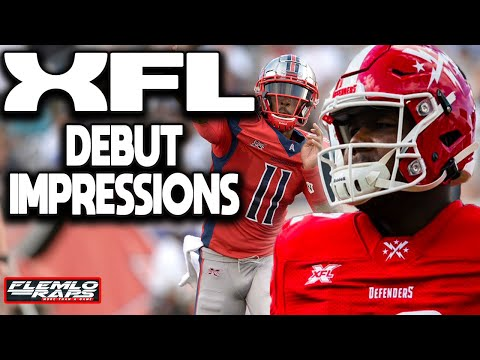 Day 1 of the XFL was Surprisingly Good! (XFL First Impressions)