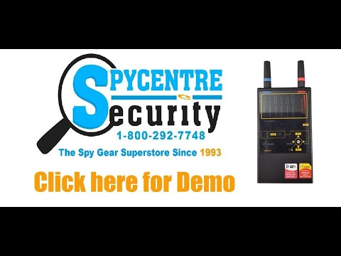 Professional Multi Frequency Wireless Bug Detector -Review