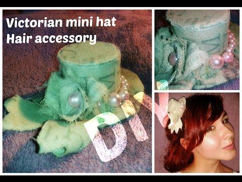 DIY: Little Victorian Hat