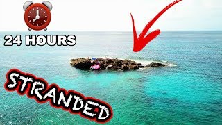 24 HOURS STRANDED ON A LAVA ISLAND!!! (Hawaii Edition, Part 1) | JOOGSQUAD PPJT
