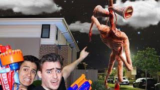Siren Head Horror Film AT 3AM Nerf Minecraft Movie