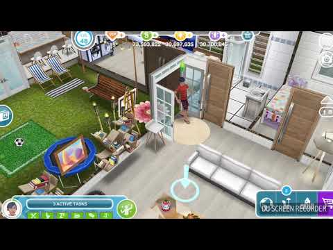 The Sims Freeplay - Max Out Sim's Fun -  Weekly Task